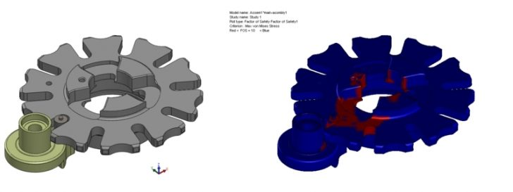 Preventing mechanical fatigue with SOLIDWORKS Simulation