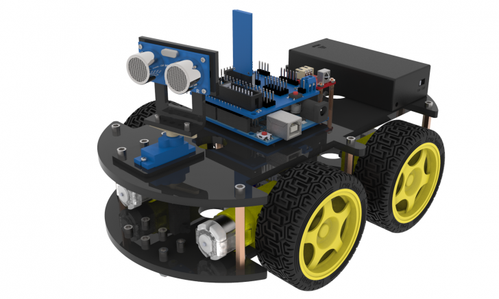 Robot : Elegoo Smart Robot Car