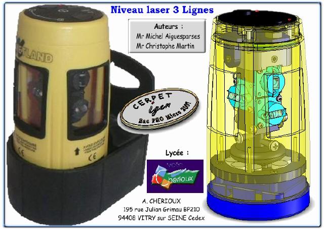 Niveau Laser 3 Lignes : Maintenance en Bac Pro Microtechniques