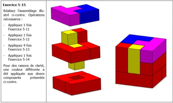 TP 3 SolidWorks – assemblage pièces tétris