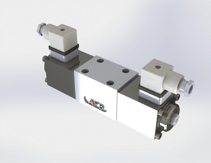 Distributeur électro-magnétique à tiroir