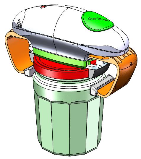Ouvre Bocal Semi Automatique
