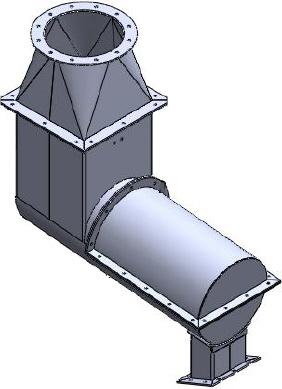 Mélangeur pour unité de fabrication de fibre de verre