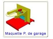 Maquette porte de garage, niveau 5ème