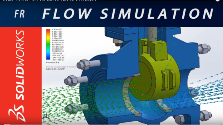 Tutoriel SOLIDWORKS Flow Simulation