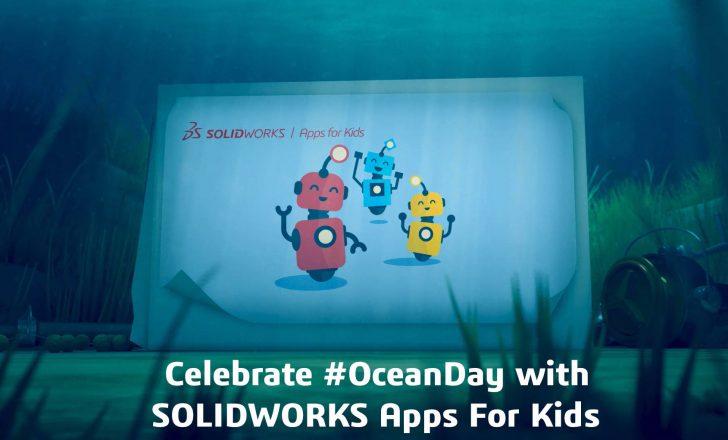 Journée de l'Océan -Tutoriel SOLIDWORKS Apps for Kids – La pieuvre