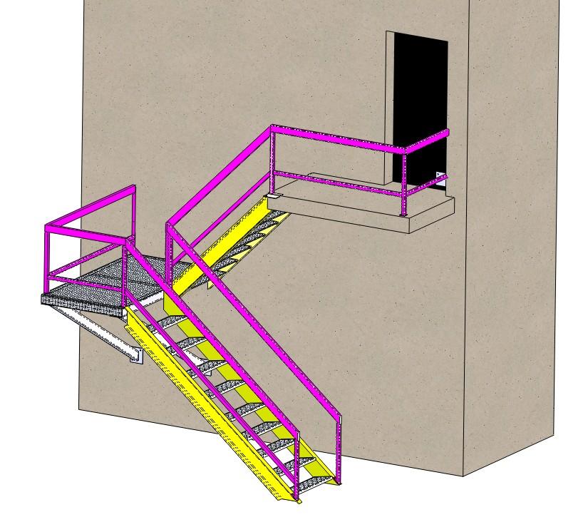 Escalier ext rieur m tallerie blog de l enseignant for Plan escalier exterieur