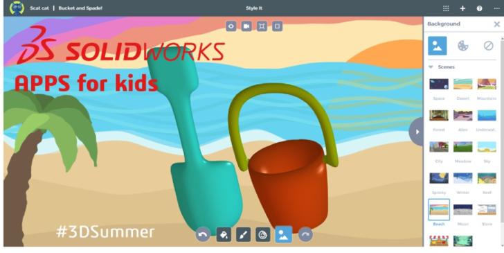 #3Dsummer Challenge: Amusez vos enfants pendant les vacances avec SOLIDWORKS Apps For Kids