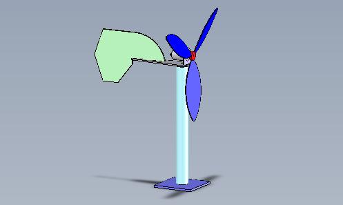 Éolienne, collège niveau 5ème