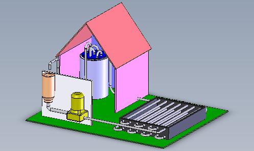 Fabrication d'eau chaude, niveau 5ème