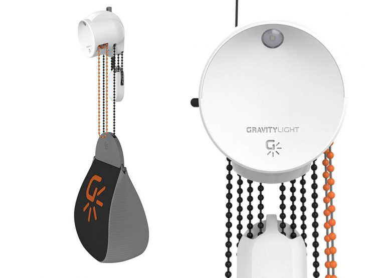 GravityLight 02 – Lampe à énergie potentielle gravitationnelle