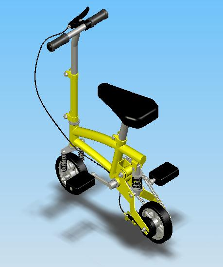Fichier Edrawings du Mini Vélo