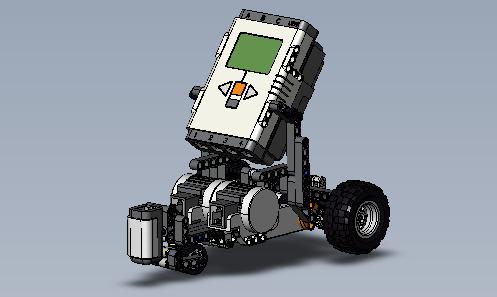 Taskbot avec extension du capteur photosensible