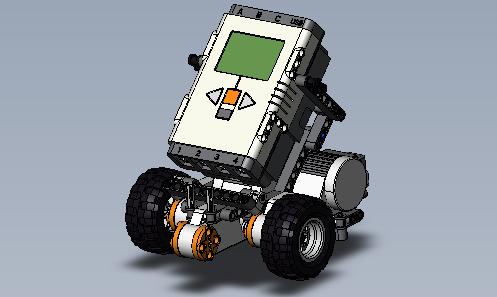 Tribot, maquette pédagogique niveau 3ème
