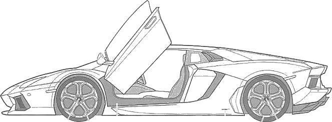 Apprendre pas à pas à modéliser une Lamborghini.