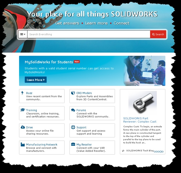 学生向け MySolidWorks のお知らせ -MySolidWorks vol.5