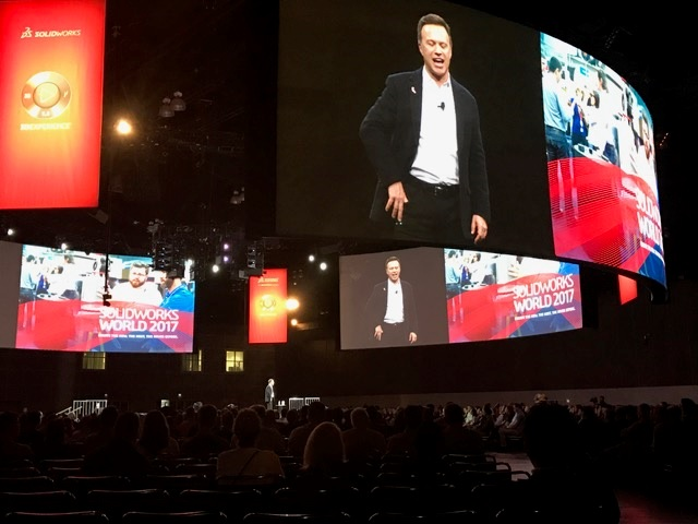 SOLIDWORKS WORLD 2017 in ロサンゼルス