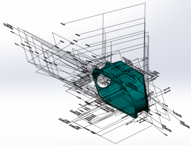 MBD 導入における 10 の注意点 – 3D PMI を見やすくまとめる