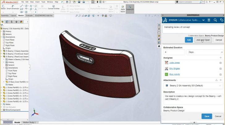 SOLIDWORKS World 2018 – SOLIDWORKS 3DEXPERIENCE PLM サービス