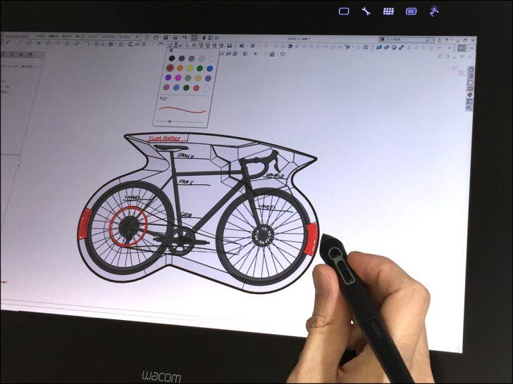 プロダクトデザイナー阿武優吉ブログ12 – 落書きから始める3D - ペンタブレットでSOLIDWORKSを使ってみよう!- 02