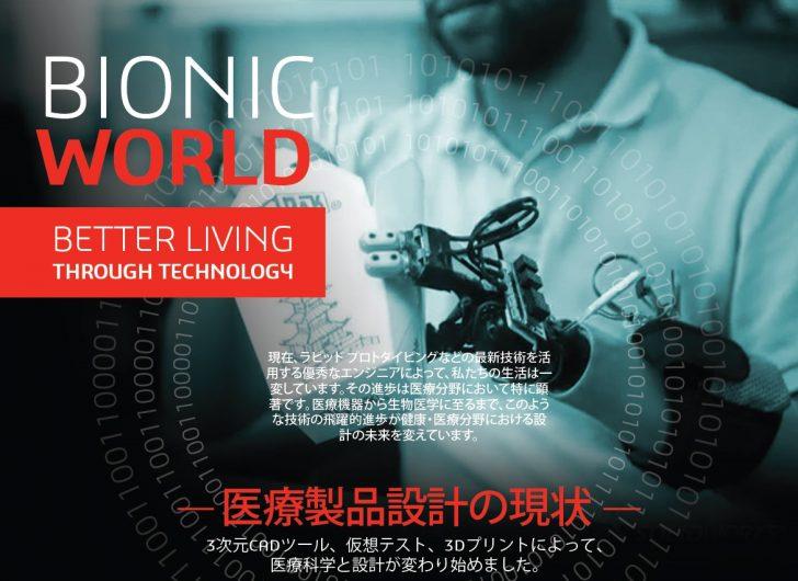 バイオニックの世界:技術によってより良い生活を