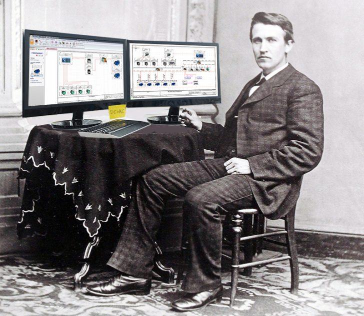 トーマス・エジソンがSOLIDWORKSを使っていたら?