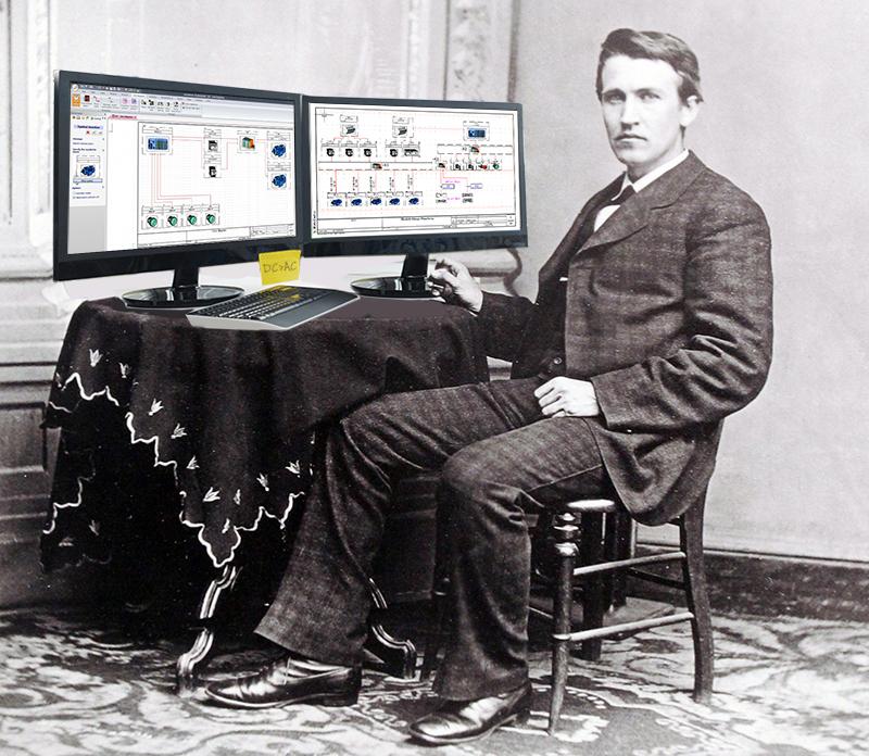 トーマス・エジソンがSOLIDWORKS...