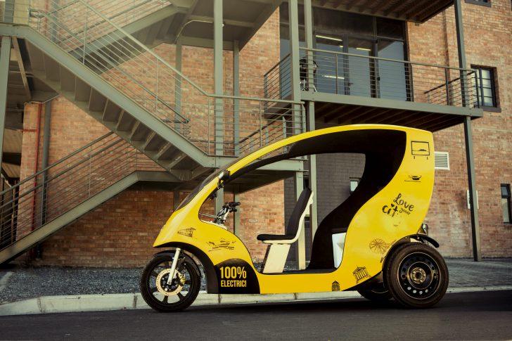 SOLIDWORKS Entrepreneur が南アフリカで進化系都市交通を製造