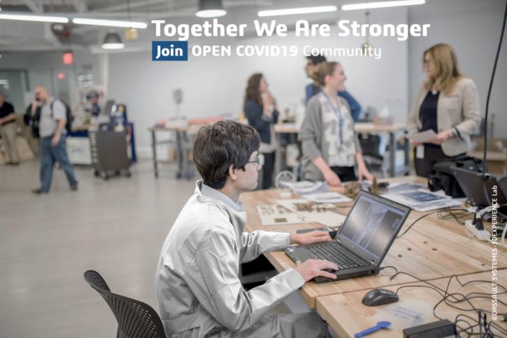 3DEXPERIENCE Lab、COVID-19への対応として、 ソリューションを迅速に提供することを目指した オープンイノベーションのイニシアチブを開始