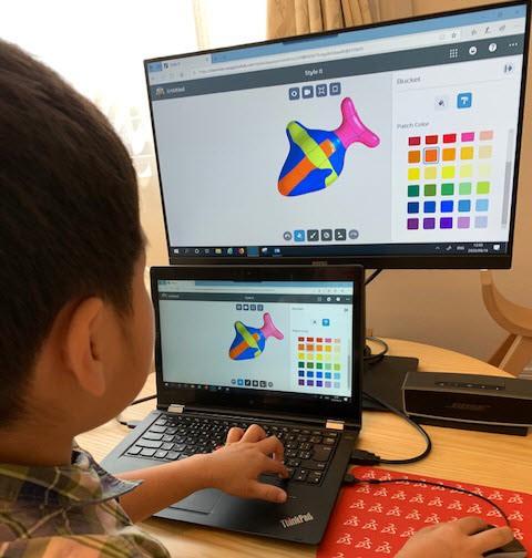 小中学生も立派な 3D設計者!