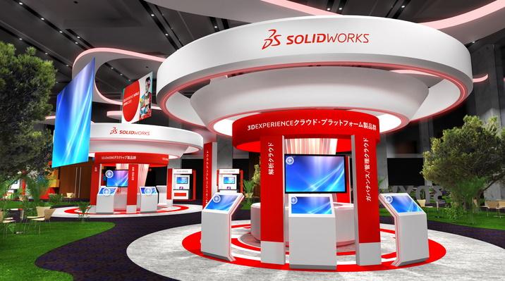 JIG設計、実験動画あり!! 展示会場の人気コンテンツにアクセス — 3DEXPERIENCE World Japan