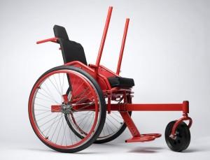 GRIT Wheelchair Designed in SolidWorks rendering