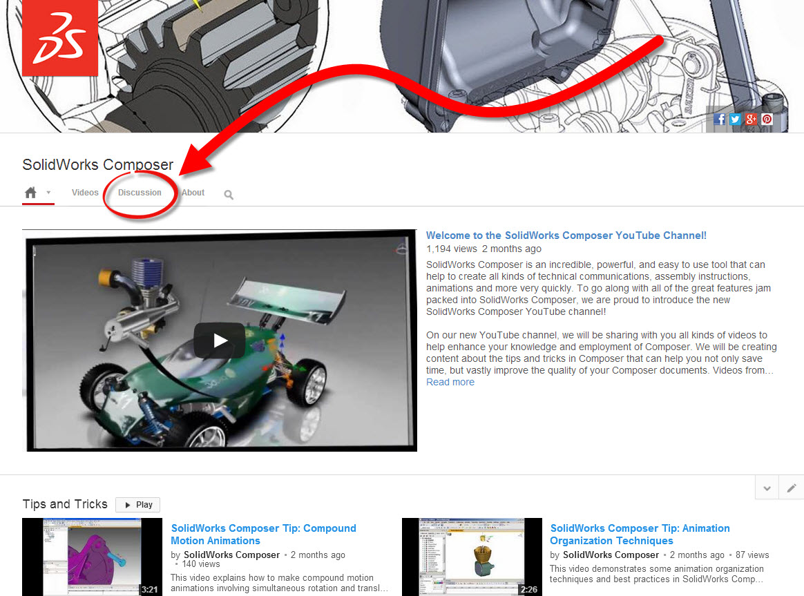 What do YOU want to see on the SolidWorks Composer YouTube Channel?