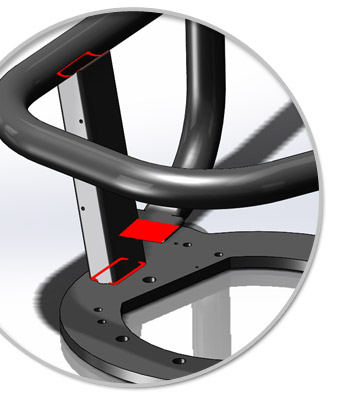New in SolidWorks 2014: Contact Pair Visualization in SolidWorks Simulation