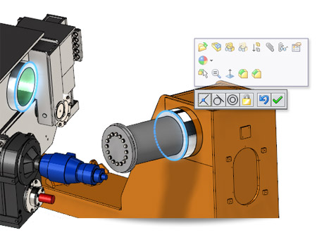 New in SolidWorks 2014: Default Mate