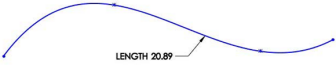 New in SolidWorks 2014: Fixed Length Spline