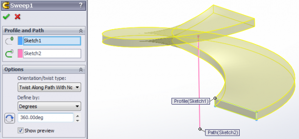 Solidworks Lofted Bends For Complex Sheet Metal Parts