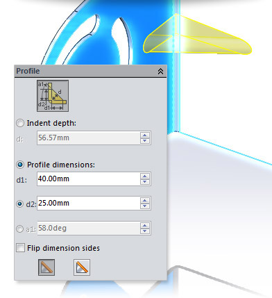 New in SolidWorks 2014: Sheet Metal Gussets