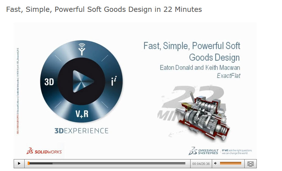 Fast, Simple, Powerful Soft Goods Design in 22 Minutes