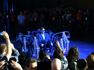 eatART demoing the Mondo Spider after the SolidWorks World 2014 Day 2 General Session