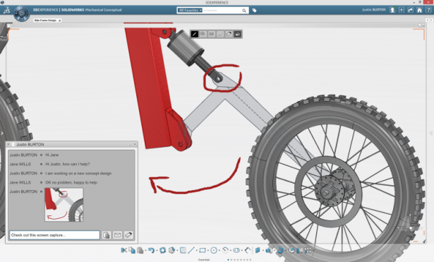 SolidWorks Mechanical Conceptual - Connected 3