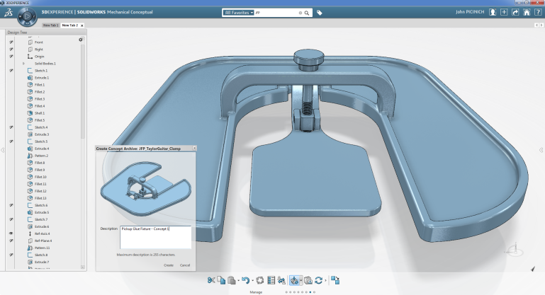 SolidWorks Mechanical Conceptual: Focus On Your Design Concept, Not Your CAD Tool
