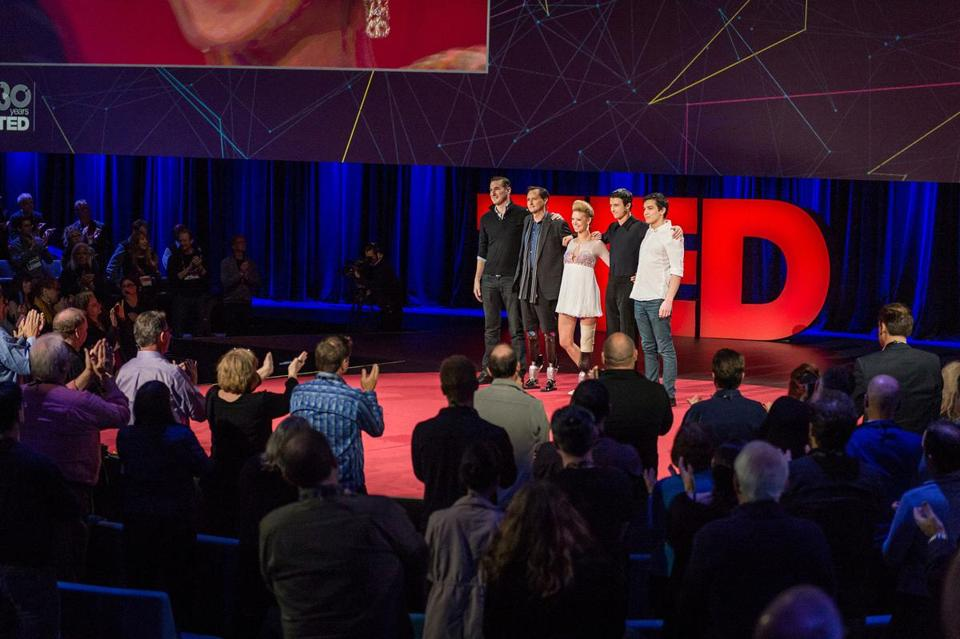 Hugh Herr and Boston Marathon Victim Inspire Audience at TED Conference Last Week