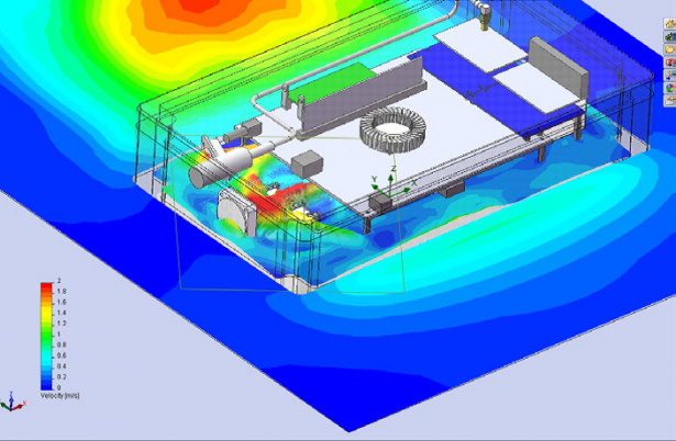 """THE COMBINATION OF OUR EXPERTISE, THE INTEGRATION OF SOLIDWORKS SIMULATION, AND THE SOFTWARE'S RANGE OF CAPABILITIES HAS ALLOWED US TO CUT DEVELOPMENT TIME IN HALF."" Reutech Radar Systems"