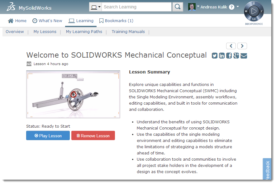 Check out the new face of MySolidWorks