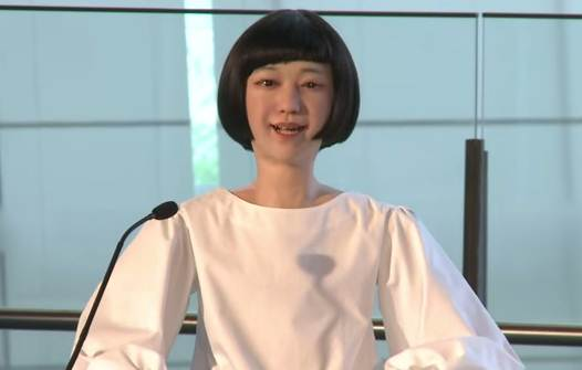 Kodomoroid: a robot prepared to deliver bad news.