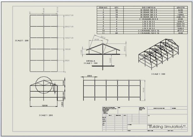 Structure Drawing