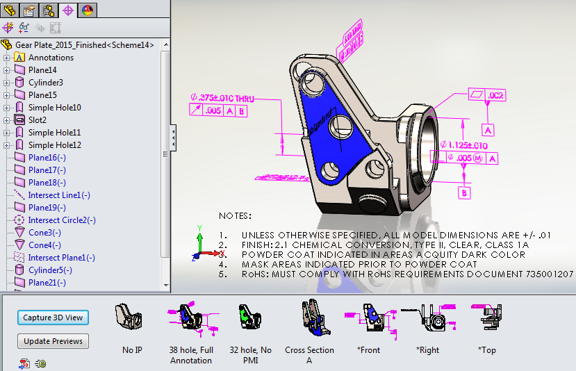 You Can Clean Up with 3D Views in SOLIDWORKS 2015