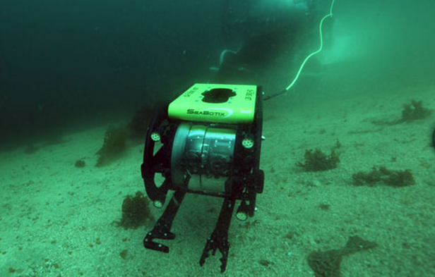 From Thought to Reality: Underwater Surveillance Robots Take 3D Under the Sea