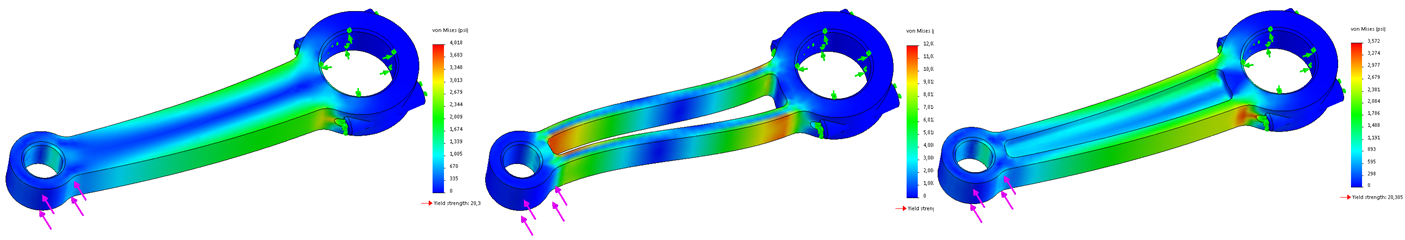 Trend Tracker in SOLIDWORKS Simulation Standard